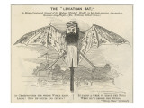 W.G.Grace as a Giant Bat Giclee Print
