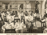 The Small Dining Room at the Hotel Wentworth, Sydney, New South Wales, Australia Photographic Print