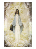 The Virgin Mary as Supposedly Seen by the Visionaries at Garabandal, Northern Spain Giclee Print