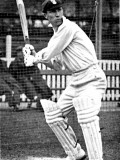 Andrew Sandham Batting in the Nets, 1924 Photographic Print