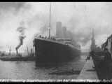 Titanic Departing from Southampton Photographic Print