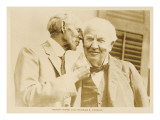 Thomas Alva Edison with Henry Ford Giclee Print
