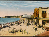 The Grande Plage at Biarritz, with the Casino and the Hotel Du Palais Photographic Print