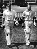 B.O. Allen and P.A. Gibb Open the Innings, Lord's, 1938 Photographic Print
