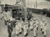 Training Ship Exmouth, Gun Crew Photographic Print by Peter Higginbotham