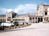View of the Plaza De Espana in Seville, Spain Photographic Print by Vanessa Wagstaff