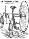 Advertisement for a Rudge Coventry Rotary Tandem Tricycle Photographic Print