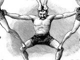 Circus Acrobat, 1888 Photographic Print