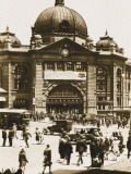 Flinders Street Station, Melbourne, Australia Reproduction photographique
