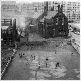 Children Playing in a Playground in Sheffield Photographic Print by Henry Grant