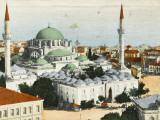 Beyazidiye Mosque, Constantinople, Turkey Photographic Print
