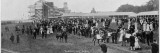 Crowds Gathering Near the Paddock before the Hunt Cup Race Photographic Print