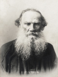 Count Lev Nikolayevich Tolstoy Photographic Print