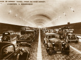 Interior of the Mersey Tunnel Photographic Print
