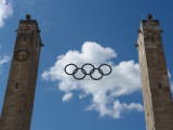 Entrance to Olympic Stadium, Berlin, Germany Photographic Print