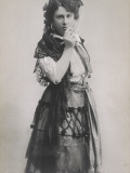 Emmy Destinn Czech Opera Singer as Carmen Photographic Print