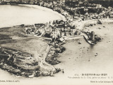 France - St Servan-Sur-Mer - Aerial View of the Town Taken from an Aeroplane Photographic Print
