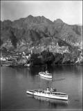 British Ships at Muscat, Oman Photographic Print