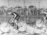 Bicycle Race at the Catford Cycling Club, 1892 Photographic Print