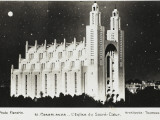 Morocco - Casablanca - Cathedral of the Sacred Heart Photographic Print