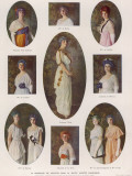 Coloured Wigs 1914 Photographic Print