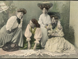 Ladies and Fortune Teller Photographic Print