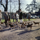 Fox Meet, Surrey 1960s Photographic Print