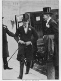 Churchill in Frock Coat Photographic Print