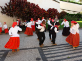 Dancers from Campanario, in Funchal, Madeira Photographic Print