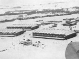 RAF Binbrooke Cut Off During the Winter of 1947 Photographic Print