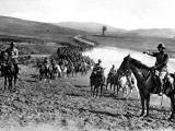 A Serbian Dragoon Regiment in the Battle of Borenitza Photographic Print