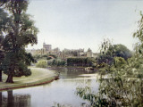 Photograph Showing Windsor Castle and the River Thames, Berkshire, 1935 Photographic Print