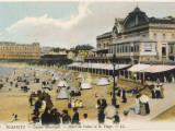 Biarritz: the Beach, the Casino Municipal and the Hotel Du Palais Photographic Print