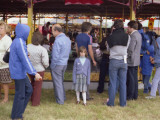 People Milling around at an Outdoor Show in Kenley, Surrey Photographic Print by Vanessa Wagstaff