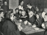 Church Army Meal for Applicants to a London Workhouse Photographic Print by Peter Higginbotham