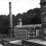 Arkwrights Cotton Mill, Derbyshire Photographic Print by Henry Grant