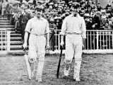 R.A. Duff and V. Trumper of the Australia Team, 1902 Photographic Print