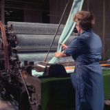 Patons and Baldwins - Wool Processing Photographic Print by Heinz Zinran