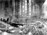 RAF 'Lancasters' over Berlin; Second World War, 1943 Photographic Print