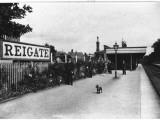 Reigate Station, Surrey Photographic Print