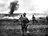 British Soldiers Advance in Tunisia; Second World War, 1943 Photographic Print