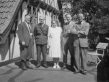 British Army Officer and Friends, Germany Photographic Print by Vanessa Wagstaff