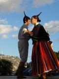 Boa Nova Group Couple Dancing, Funchal, Madeira Photographic Print