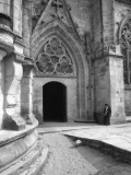 Ornate Church Doorway, Pleneuf, France Photographic Print by Vanessa Wagstaff