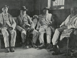 Inmates of Union Workhouse, Shipston on Stour, Worcs Photographic Print by Peter Higginbotham