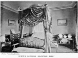 Newstead Abbey Bedroom of Byron, Aristocrat and Romantic Poet, at His Nottinghamshire Home Photographic Print