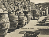 Knossos - Crete - Large Storage Jars Photographic Print