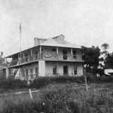 Government House, Bonthe on Sherbro Island, Sierra Leone Photographic Print