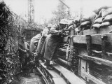 German Trenches During World War I on the Western Front Photographic Print by Robert Hunt
