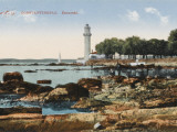 Lighthouse at Fenerbahce, Constantinople Photographic Print